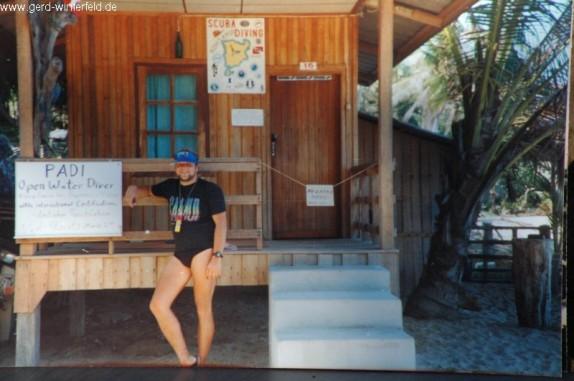 Meine erste eigene kleine Tauchschule an der Coral Cove auf Koh Samui, Thailand