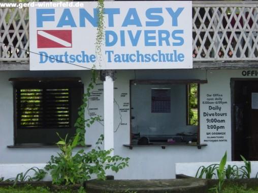 Meine Tauchbasis Fantasy Divers auf der Insel Camiguin, Philippinen