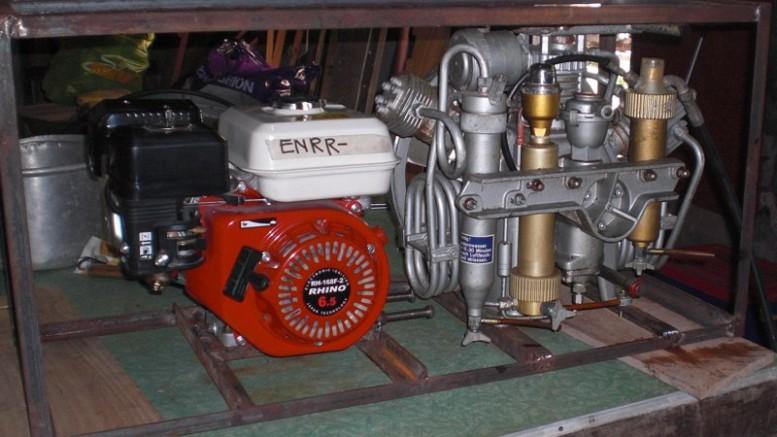 Bauer Utilus Tauchkompressor von 1975