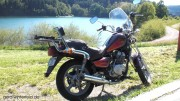 Sieht auch nach 15 Jahren noch gut aus: Mein Hyosung Chopper in Deutschland