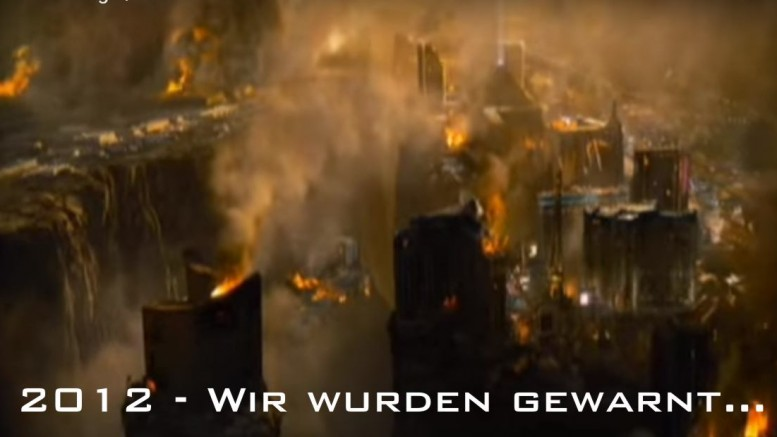 Screenshot aus dem Kinofilm 2012