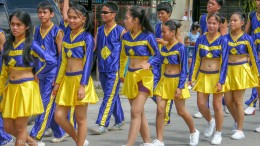 Parade in Loon, Philippinen 2010