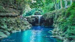 Wasserfall bei Loon, Bohol, Philippinen