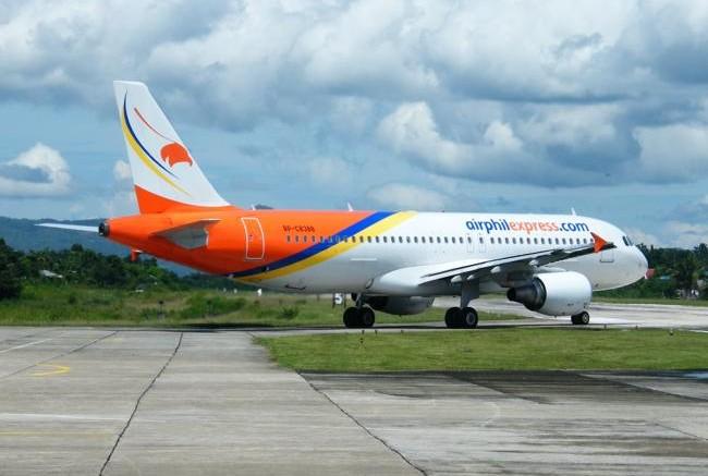 Airbus A320 der AirPhilexpress in Tagbilaran