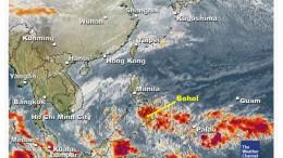 Das Wetter auf Bohol am 28.01.2011 und wir sitzen mittendrin