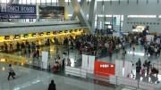 Chaos beim Einchecken am Manila Airport