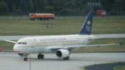 Airbus A320 der Saudi Arabian Airlines