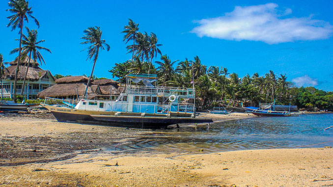 Nicht ganz so toll: Der Lugutan Beach auf Boracay