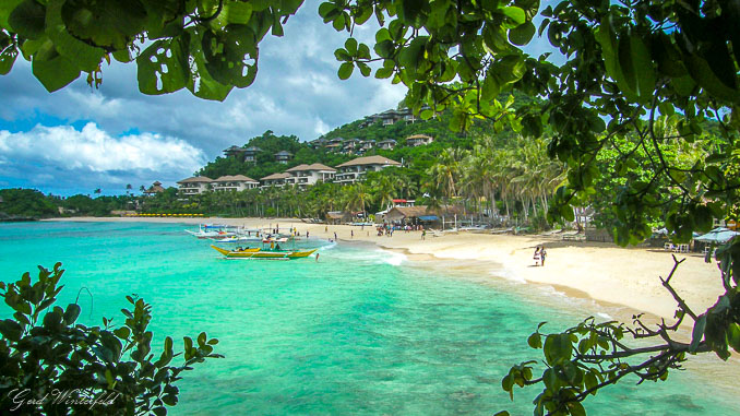 Der Punta Bunga Beach auf Boracay