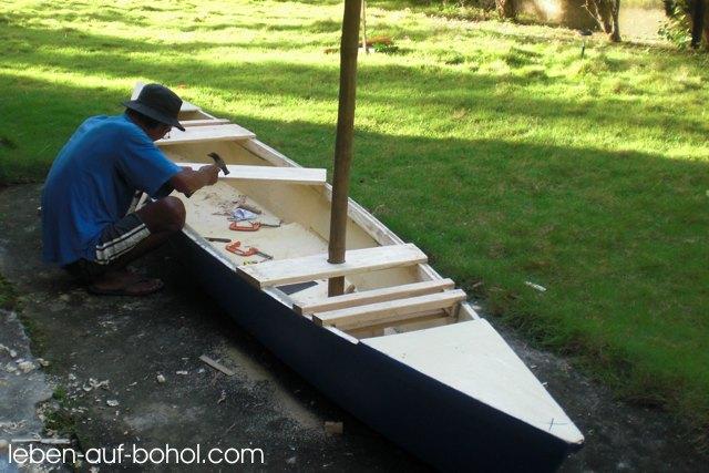 Vom Kanu zum Segelboot