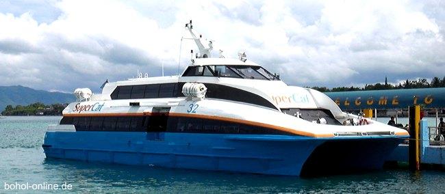 Schnellfähre Bohol Cebu