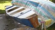 Mein Segelboot auf der Werft