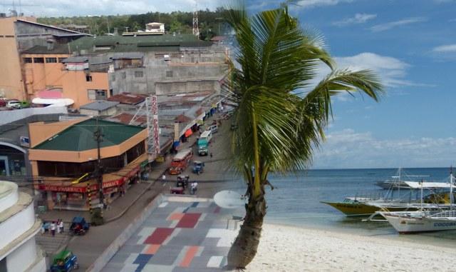 Strand oder Stadt auf den Philippinen. Ich weiß genau wo ich lieber wohne