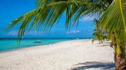 Strand auf Bantayan Island, Philippinen