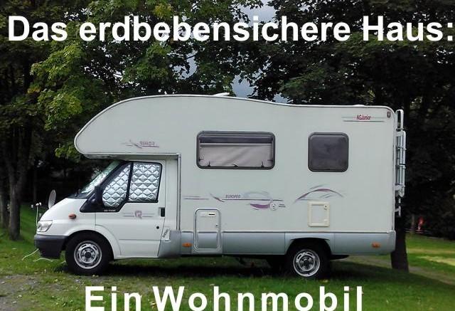Ein Wohnmobil