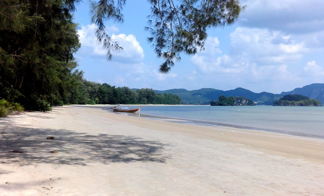 Long Beach in Krabi Thailand