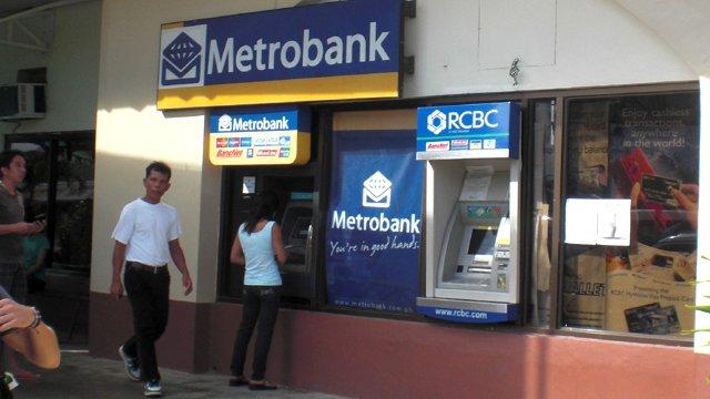 Geldautomat auf den Philippinen