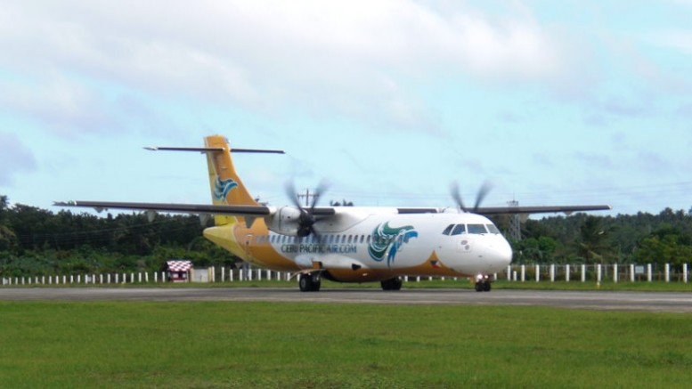 ATR 72 der Cebu Pacific