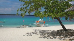 Strand auf den Philippinen