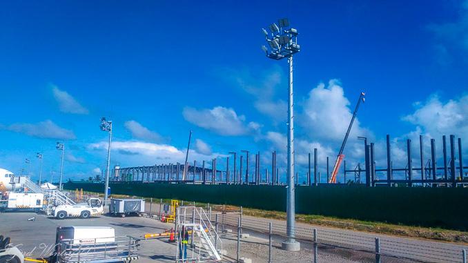 Das neue Terminal am Caticlan Airport ist noch im Bau