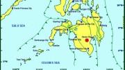Erdbenkarte Mindanao am 31.10.2019