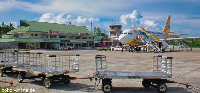 Der alte Airport in Tagbilaran