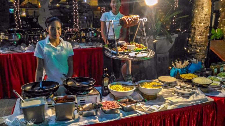 Filipino Food, Buffet