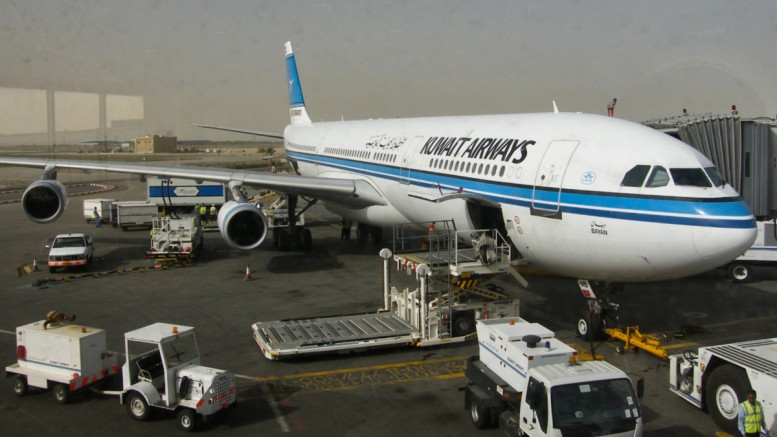 A340 der Kuwait Airways