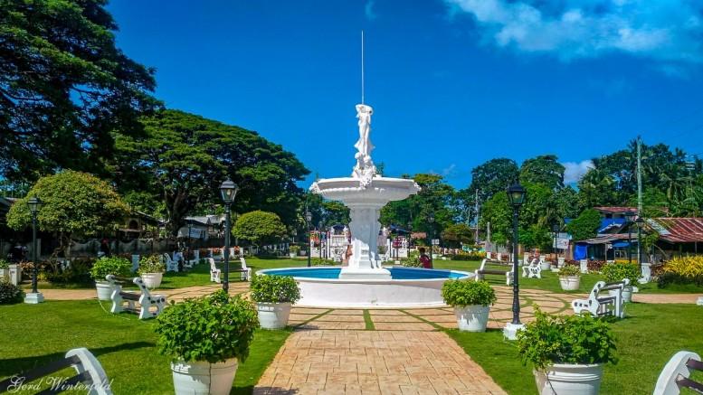 Parkanlage bei Loon, Bohol