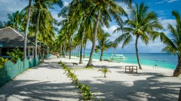 Bounty Beach auf Malapascua, Philippinen