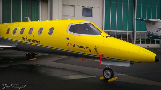 Rettungsflieger | Ambulanz Flugzeug
