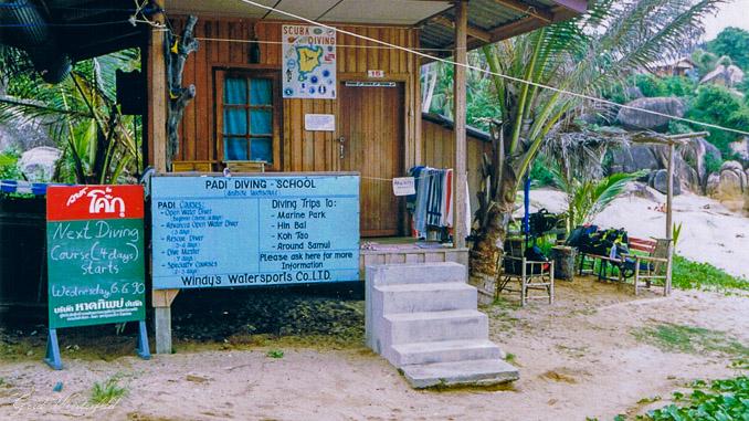 Die Anfänge auf Koh Samui an der Coral Cove