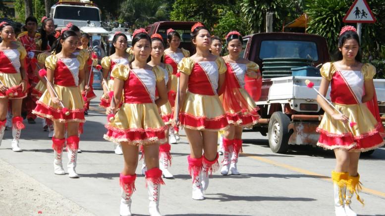 Strassenparade, Philippinen