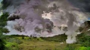 UAsbruch Taal Vulkan 12. Januar 2020